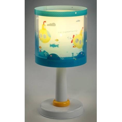 Dalber D-41301 - Gyerek asztali lámpa SUBMARINE 1xE14/40W/230V