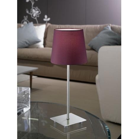 Eglo 92883 - Asztali lámpa LAURITZ 1xE14/40W/230V