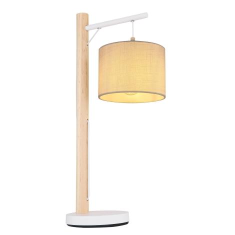 Globo - Asztali lámpa 1xE27/40W/230V