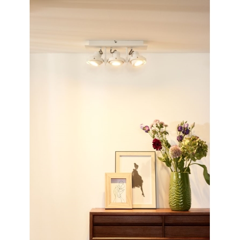 Lucide 17906/15/31 - LED spotlámpa LANDA 3xGU10/4,5W/230V fehér