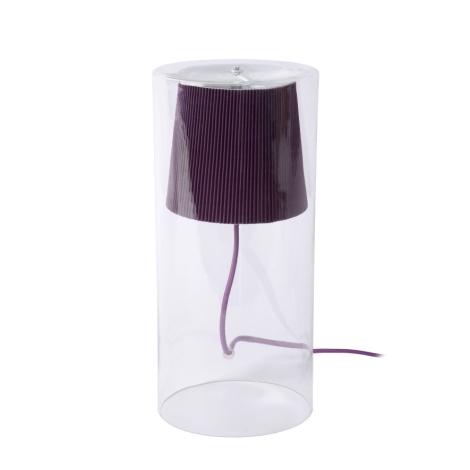 Lucide 78574/01/39 - Asztali lámpa TINA 1xG9/40W/230V lila