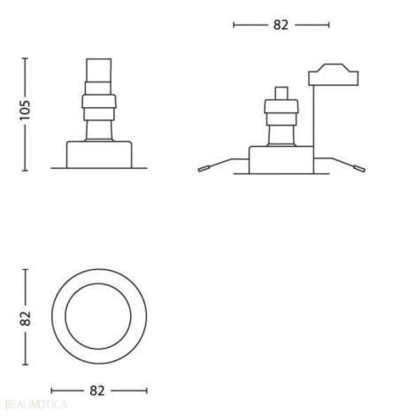 Philips 59143/31/PN - Készlet 3x Fürdőszobai lámpa LUNAR 3xGU10/5W/230V