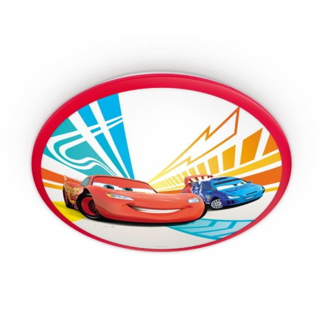 Philips 71761/32/16 - LED gyermek fali lámpa DISNEY CARS 1xLED/7,5W/230V