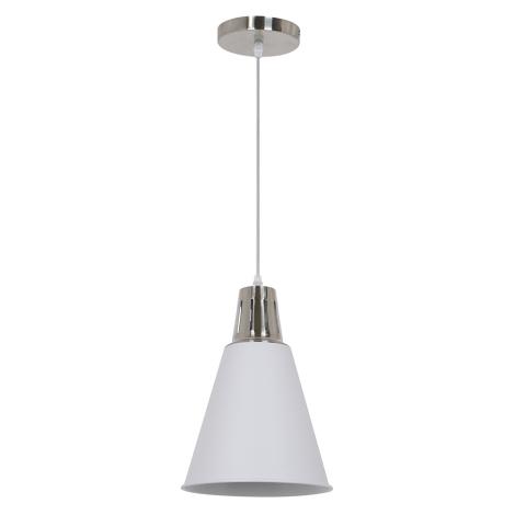 LED Csillár 1xE27/10W/230V fehér 22cm