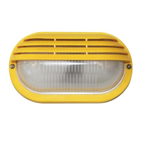 100 S fali lámpa, sárga 1xE27/60W