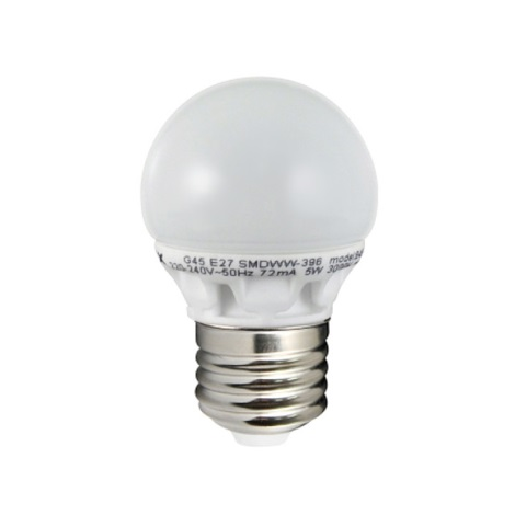 301031 - LED izzó  E27/5W/230V