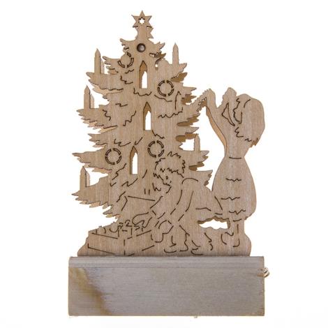 31073 - Karácsonyi dekoráció 1xLED/0,04W/2xAA