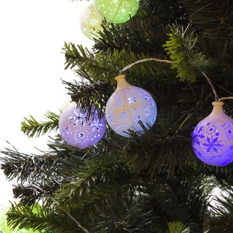 31479 - Beltéri karácsonyi lánc LED/0,45W/3xAA 3m