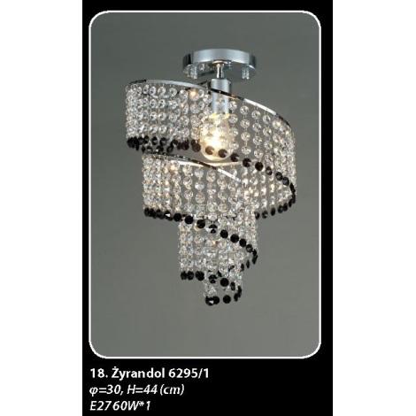 6295/1 - Mennyezeti lámpa 1xE27/60W