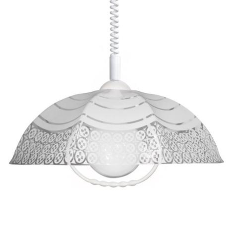 Állítható magasságú csillár AKRYL TR 1xE27/60W fehér