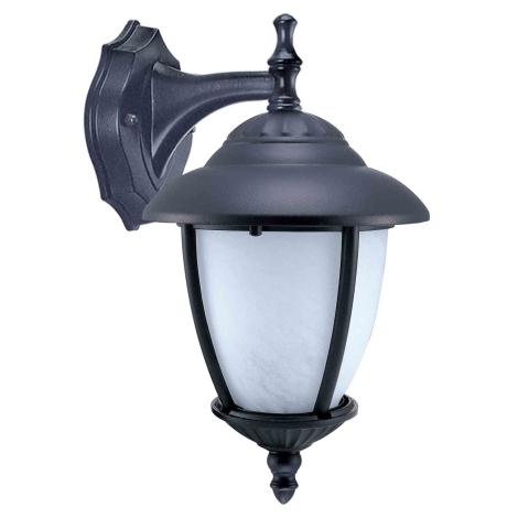 ANCONA D kültéri fali lámpa, fekete 1xE27/60W