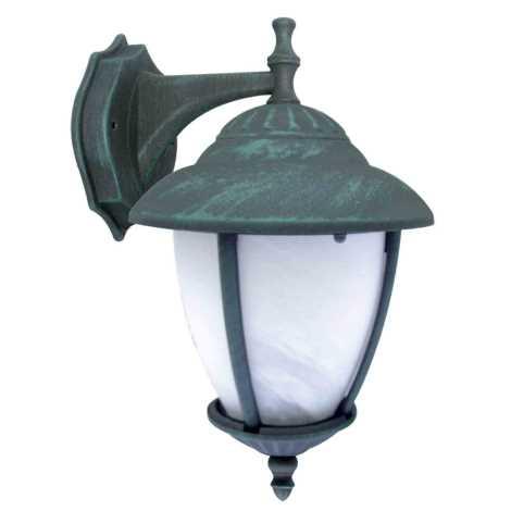 ANCONA D kültéri fali lámpa, zöld 1xE27/60W