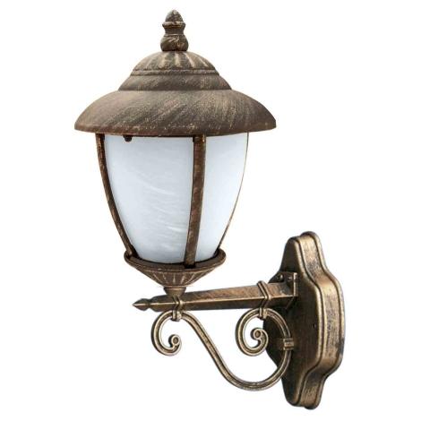 ANCONA LX N kültéri fali lámpa, arany 1xE27/60W