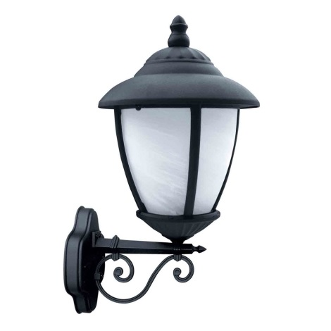 ANCONA LX N kültéri fali lámpa, fekete1xE27/60W
