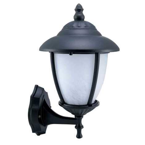 ANCONA N kültéri fali lámpa, fekete 1xE27/60W