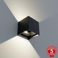 APLED - LED Kültéri fali lámpa CUBE 2xLED/3W/230V IP65
