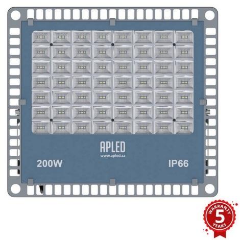 APLED - LED Kültéri reflektor PRO LED/200W/230V IP66 20000lm 6000K