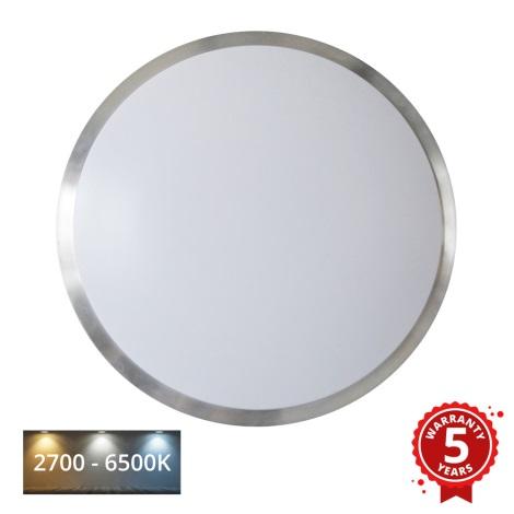 APLED - LED Mennyezeti lámpa érzékelővel LENS PP TRICOLOR LED/18W/230V 1210lm