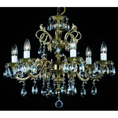 Artcrystal PAN385300006 - Csillár 6xE14/40W