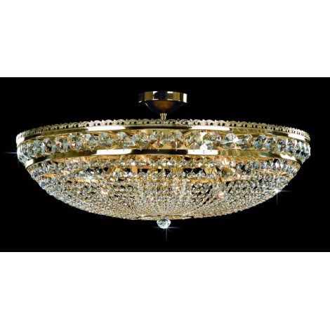 Artcrystal PCB052400012 - Mennyezeti lámpa 12xE14/40W