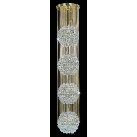 Artcrystal PCB093800004 - Csillár 4xE27/60W