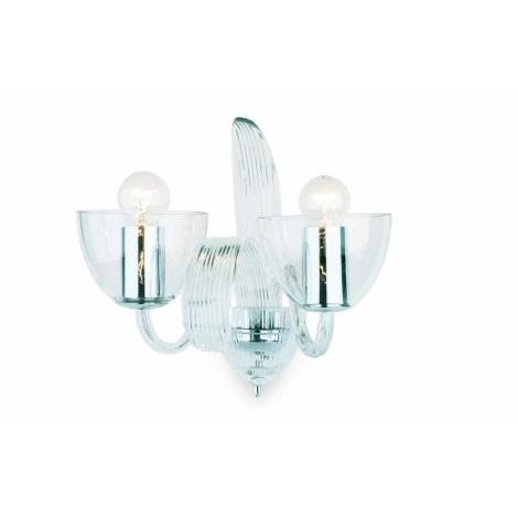 Artcrystal Pl019 - Fali lámpa 2xE14/40W