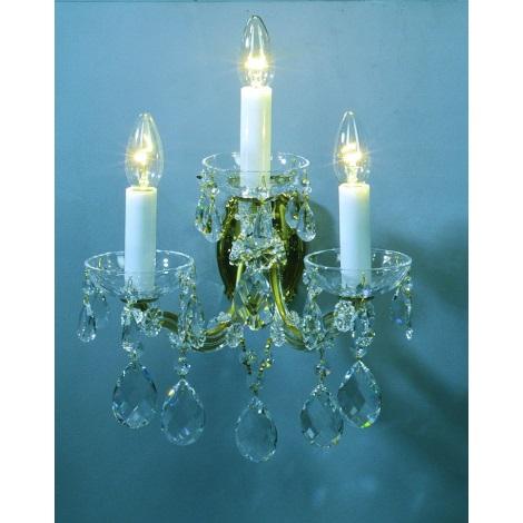 Artcrystal PL030 - Fali lámpa 3xE14/40W