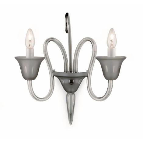 Artcrystal Pl032 - BLACKDIAMOND fali lámpa 2xE14/40W