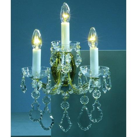 Artcrystal PL036 - Fali lámpa 3xE14/40W