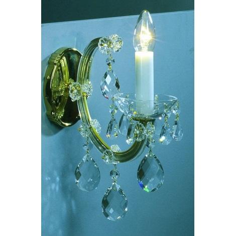 Artcrystal PL040 - Fali lámpa 1xE14/40W