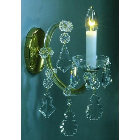 Artcrystal PL044 - Fali lámpa 1xE14/40W