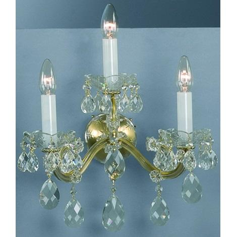 Artcrystal PL058 - Fali lámpa 3xE14/40W
