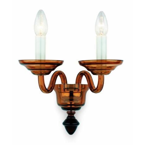 Artcrystal Pl058 - TAUPE fali lámpa 2xE14/40W