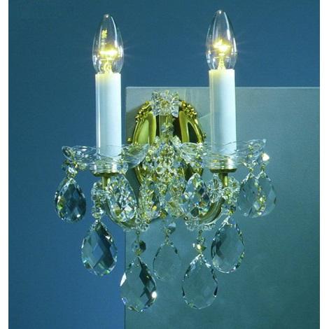 Artcrystal PL079 - Fali lámpa 2xE14/40W