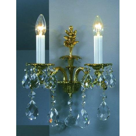 Artcrystal PL141 - Fali lámpa 2xE14/40W