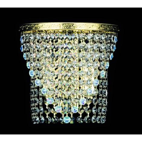 Artcrystal PS012 - STRASS fali lámpa 2xE14/40W