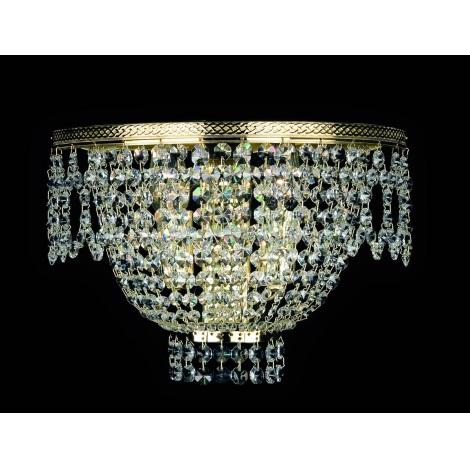 Artcrystal PS053 - BRILLIANT fali lámpa 2xE14/40W