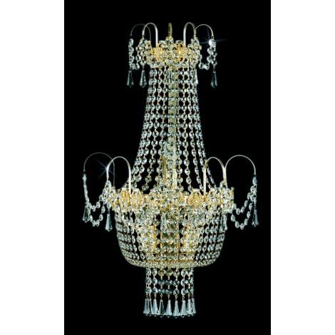 Artcrystal PWB050900003 - Fali lámpa 3xE14/40W