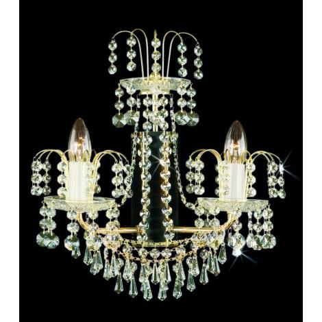 Artcrystal PWB051600002 - Fali lámpa 2xE14/40W