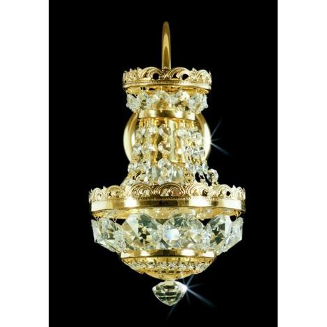 Artcrystal PWB052400001 - Fali lámpa 1xE14/40W