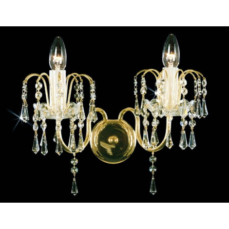 Artcrystal PWB059000002 - Fali lámpa 2xE14/40W