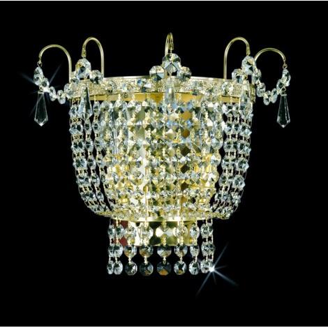 Artcrystal PWB066101002 - Fali lámpa 2xE14/40W