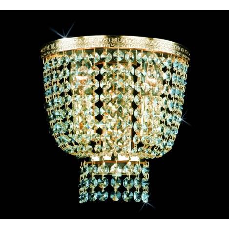 Artcrystal PWB075700002 - Fali lámpa 2xE14/40W