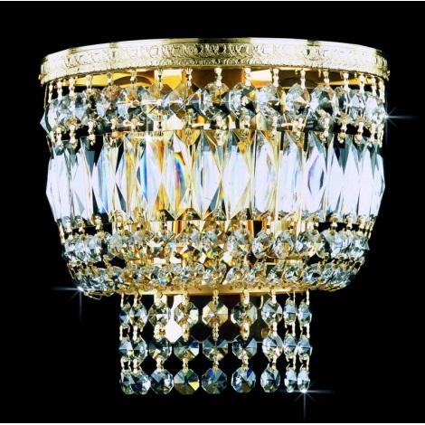 Artcrystal PWB075701002 - Fali lámpa 2xE14/40W