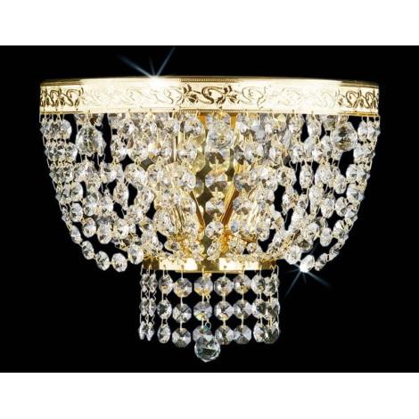 Artcrystal PWB093301002 - Fali lámpa 2xE14/40W