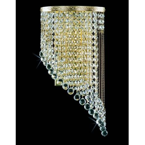 Artcrystal PWB103000002 - Fali lámpa 2xE14/40W