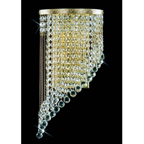 Artcrystal PWB103001002 - Fali lámpa 2xE14/40W
