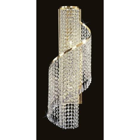 Artcrystal PWB104901002 - Fali lámpa 2xE14/40W