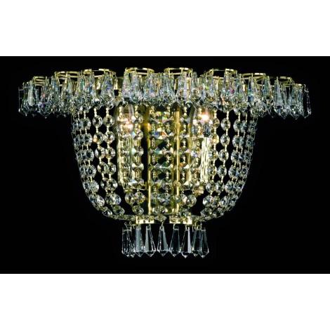 Artcrystal PWB108100002 - Fali lámpa 2xE14/40W