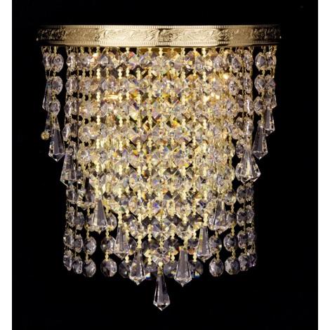 Artcrystal PWB122101002 - Fali lámpa 2xE14/40W